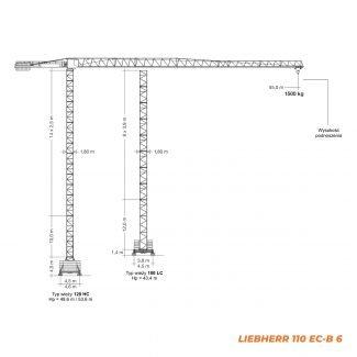 LIEBHERR 110EC-B – udźwig 6T