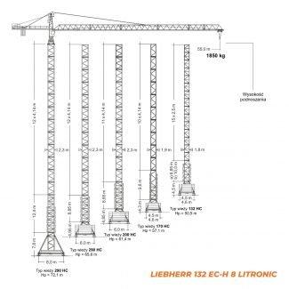 LIEBHERR 132EC-H – udźwig 8T