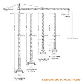 LIEBHERR 280EC-H – udźwig 12T