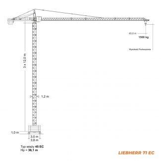 LIEBHERR 71EC – udźwig 5,6T
