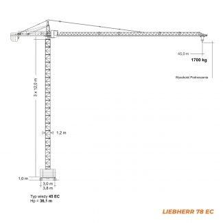 LIEBHERR 78 EC – udźwig 5T