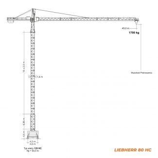 LIEBHERR 80HC – udźwig 6T