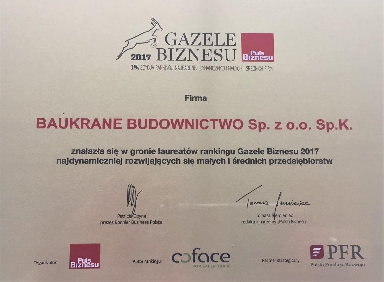 gazele biznesu Baukrane