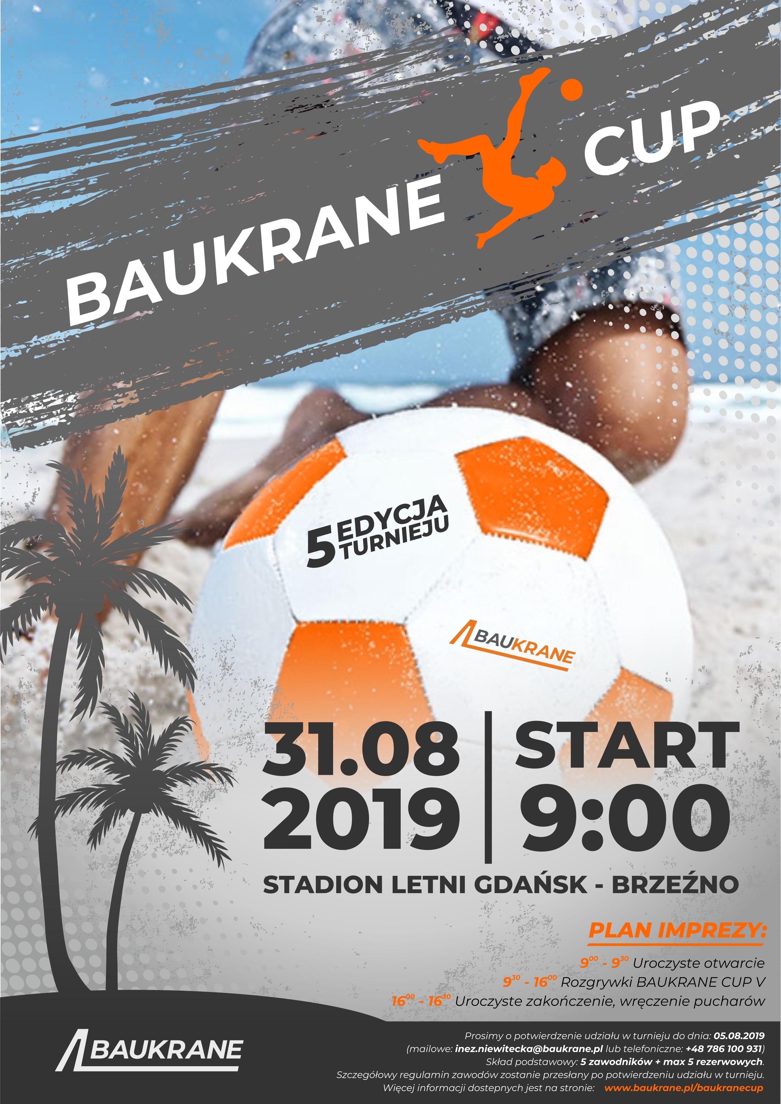 zaproszenie 2019 baukrane cup