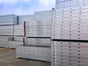 Aluminiowy system ścienny BAUFRAME ALU